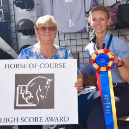 The Horse of Course High Score Award winner Laura Graves and Verdades were doubly honored for their FEI Grand Prix victories during the Adequan Global Dressage Festival