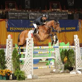 Leslie Howard and Gentille Van Spieveld Win $85,000 Grand Prix De Penn National