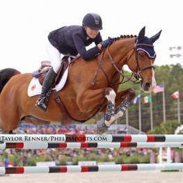Lillie Keenan and Super Sox at the HITS Great American Million
