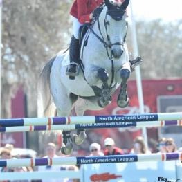 Marilyn Little won the $100,000 Longines FEI World Cup Jumping Qualifier Presented by Golden Ocala