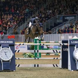 Mclain Ward of the United States riding HH Azur won the $75,000 Big Ben Challenge, presented by Hudson's Bay Company, to close out international show jumping competition on Saturday night, November 14, at the Royal Horse Show® in Toronto, ON.