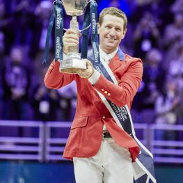 Jumping final winner McLain Ward USA