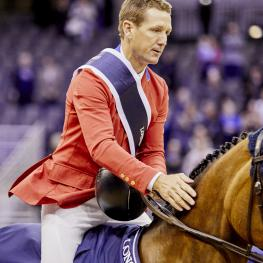 McLain Ward (USA) & HH Azur Photo Liz Gregg/FEI
