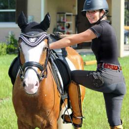 Competitors like Micah Deligdish are saddling up for this month's National Dressage Pony & Small Horse Championships at Lamplight Equestrian Center. (Photo: Deligdish)