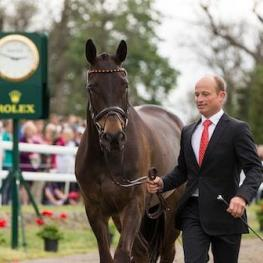 Michael Jung is aiming to win the Rolex Kentucky Three-Day Event for the second time with Fischerrocana FST.