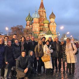 Excursion to Moscow