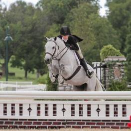 Natalie Jayne and Woodlands Stevie Ray, pony finals 2016