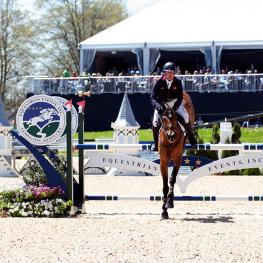 Oliver Townend (GBR) and Cooley Master Class are the winners of the 2018 Land Rover Kentucky Three-Day Event