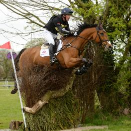 Highest placed rider of the winning British team at the FEI Nations Cup Eventingª Ballindenisk was Oliver Townend riding Cooley SRS.