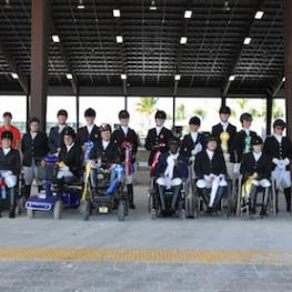 Riders at the 2014 CPEDI at the Adequan® Global Dressage Festival