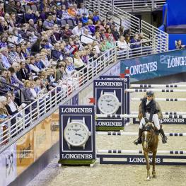 Longines FEI World Cup Jumping™ Sunday Final Roman Duguet with Twentytwo des Biches