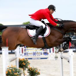 Søren Møller Rohde produced a superb double-clear from Velerne ASK to help secure the host nation's victory at the FEI Nations Cup™ Jumping 2017 Europe Division 2 leg in Uggerhalne (DEN)