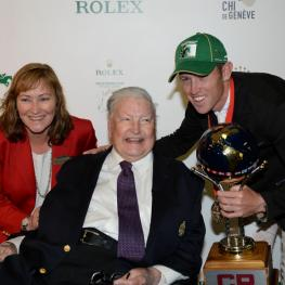 Linda and Ron Southern With Scott Brash