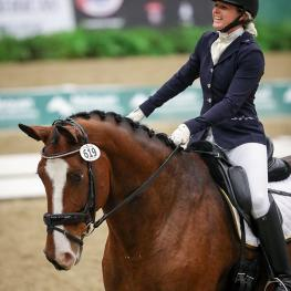 lorado's Taryn Anderson found a way to finally get to the US Dressage Finals presented by Adequan®, and her efforts paid off with two Championship titles in the First and Third Level Adult Amateur Freestyle divisions.