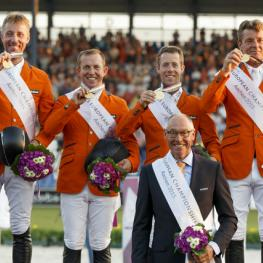 Team NED fei euro championships gold medal showjumping 2015
