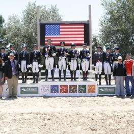 Young Rider Team Medalists