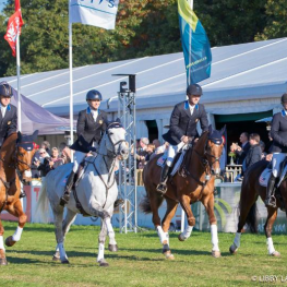 The Land Rover U.S. Eventing Team