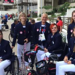 U.S. Paralympic Equestrian Team at Opening Ceremonies