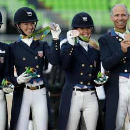 US Dressage Team Olympic Bronze 2016