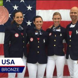 US Dressage Team Olympic Bronze 2016 - Ali Brock, Kasey Perry Glass, Laura Graves,  and Steffen Peters