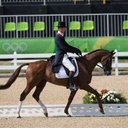 WIlliam Fox-Pitt (GBR) and Chilli Morning sit in the lead after day 1 (Photo: Dirk Caremans)