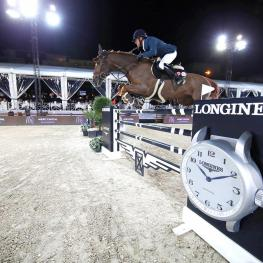 Bassem shoots to ranking No1 as Delestre wins Grand Prix. Photo: Stefano Grasso / LGCT