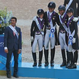 US Dressage Team Silver - FEI World Equestrian Games Tryon 2018