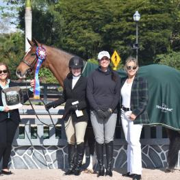 "Triple Crown Nutrition is excited to continue to recognize the top high-performance riders who have gathered in Wellington, Florida for the 2019 Winter Equestrian Festival (WEF). One of those exceptional equestrians is Holly Orlando, who after only knowing her horse Waverly, aka ""Poppy,"" for two weeks, won the Pre Green 3' Championship during Week Four of this prestigious series."
