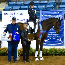 Melissa Palmer and Oldenburg Reagan 10