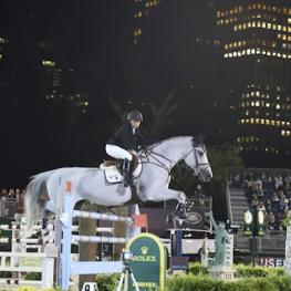 Georgina Bloomberg and Juvina. Photo Credit Kit Houghton/Rolex