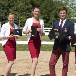 Canadian Eventing Team and Ice Horse products - Selena O'Hanlon, Jessica Phoenix, Kathryn Robinson, Waylon Roberts, Colleen Loach