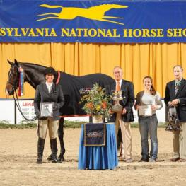 Jennifer Alfano's Candid crowned Grand Champion Hunter (c) Al Cook - alcookphoto.com