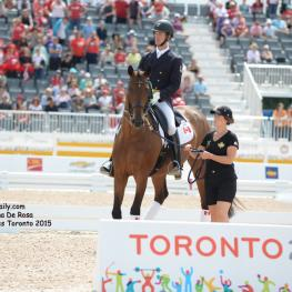 Christopher Von Martels, Individual Bronze at the Pan American Games, Toronto 2015 Photo: © Diana De Rosa