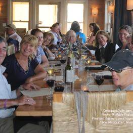 Thank you Pineland Farms for an awesome dinner at a nearby harbor town! Photo: © Mary Phelps