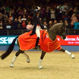 Charlotte Dujardin broke her own previous Grand Prix World Record at Olympia, The London International Horse Show