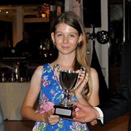 Elizabeth Fenner, Most Improved  Junior Player (Photo:Alannah Castro)