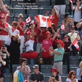 Canadian fans Photo: © Diana De Rosa