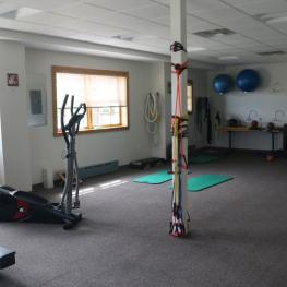 The gym at the Equestrian Center at Pineland Farm. Photo: © Mary Phelps