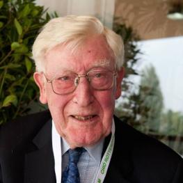 Jacques Schoufour (NED), honorary chairman of CHIO Rotterdam, who has died at the age of 86.