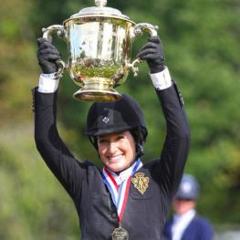 Jessica Springsteen won the American Gold Cup this year in North Salem, NY. By Emily Riden