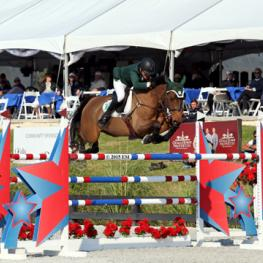 Kevin Babington and Mark Q take the $34,000 FEI Thursday Prix at HITS Ocala CSIO4*.  (C) ESI Photography