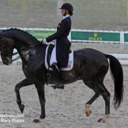 Adrienne Lyle and Wizard at the Alltech FEI World Equestrian Games (Photo: Mary Phelps)