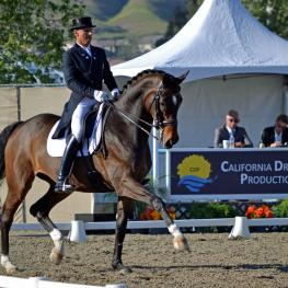 Steffen Peters and Legolas 92 (Photo: Jennifer M Keeler)