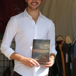 Ray Vega with Horse and Rider Boutique's Catalogue, loving life in Wellington New catalogue