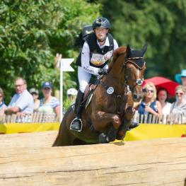 Newly-crowned world champion Sandra Auffarth will set out with a strong German team at this week's FEI Nations Cup™ Eventing final leg in Boekelo (NED), where Longines will be the Official Partner. (Trevor Holt/FEI).