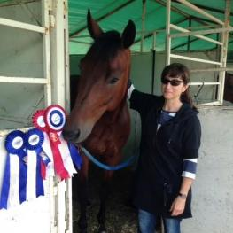 Santiago HW and Shelley Brown: Level One Champion at the Cornerstone National Dressage Show