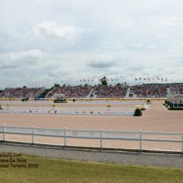 The Dressage Stadium Photo: © Diana De Rosa