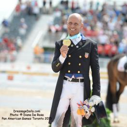 USA's Gold Medallist (again) Steffen Peters Photo: © Diana De Rosa