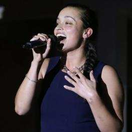 Teaghan James won the third round of AEGT auditions
