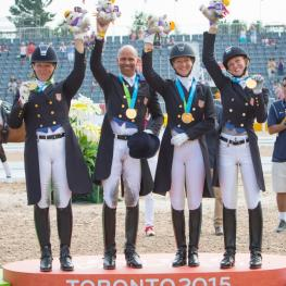 Team Gold for U.S. Dressage Team